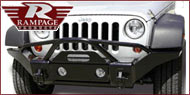 Rampage Jeep Recovery Bumpers