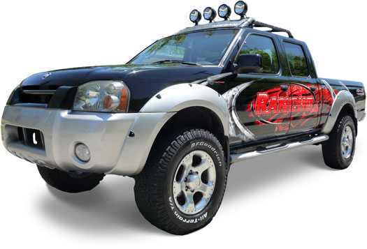 Rancho 2000-2004 Nissan Frontier Suspension Lift Kits.