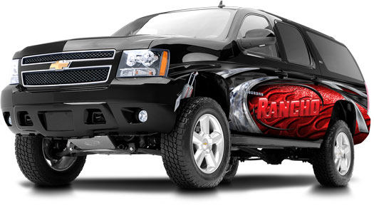 Rancho Chevy Suspension Lifts Save On Rancho Chevy Suspensions