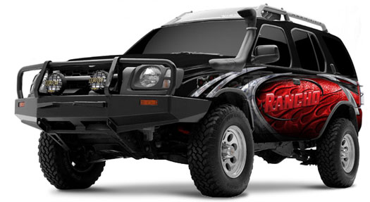 Rancho Suspension Lift Kit For Nissan Xterra