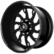 American Force RAPTOR SS8 Black Wheels