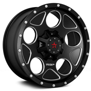 RBP Wheels  <br>85R Voltage Satin Black