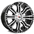 RBP Wheels <br>94R Machined Face with Black Inserts