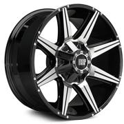 RBP Wheels <br>98R Black Machine