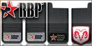 RBP Mud Flaps <br>Dodge