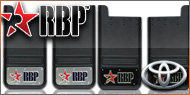 RBP Mud Flaps <br>Toyota