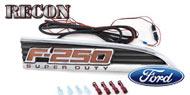 Recon F-250 E.L Illuminated<br /> Fender Emblems