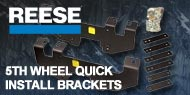 Reese 5th Wheel Quick Install Brackets