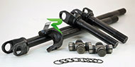 "Revolution Gear & Axle<br /> Discovery Series D44 Front Inner Axle, Ford Bronco 71-77 LH&GM 71-81 RH, 18.31"" 30Spl"