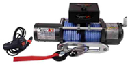 Rugged Ridge <br>Heavy Duty 8,500 Lbs. <br>Synthetic Rope Winch