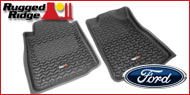 Rugged Ridge Ford <br>Truck Floor Mats