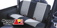 Rugged Ridge Jeep <br>Front & Rear Poly Cotton <br>Seat Covers