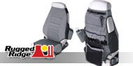 Rugged Ridge <br>Jeep Seats and Covers