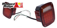 Rugged Ridge Jeep <br>LED Tail-Light Assemblies