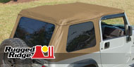 Rugged Ridge<br> XHD Bowless Soft Top