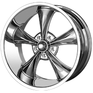 Ridler 695 Chrome Wheels