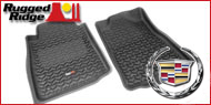 Rugged Ridge Cadillac <br>Truck Floor Mats