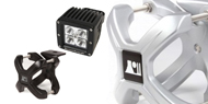 Rugged Ridge Jeep <br>X-Clamp 1 Piece Light Kits
