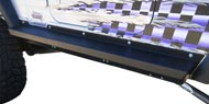 Rock Slide Engineering Step-Slider <br>for 2004-2006 Jeep Wrangler Unlimited TJL