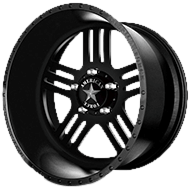 American Force Wheels<br /> RUSH SS5 Black