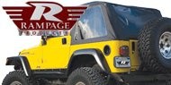 Rampage Jeep Trail Top, Frameless