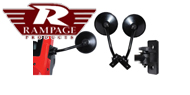 Rampage Relocation Mirror and Bracket Kit