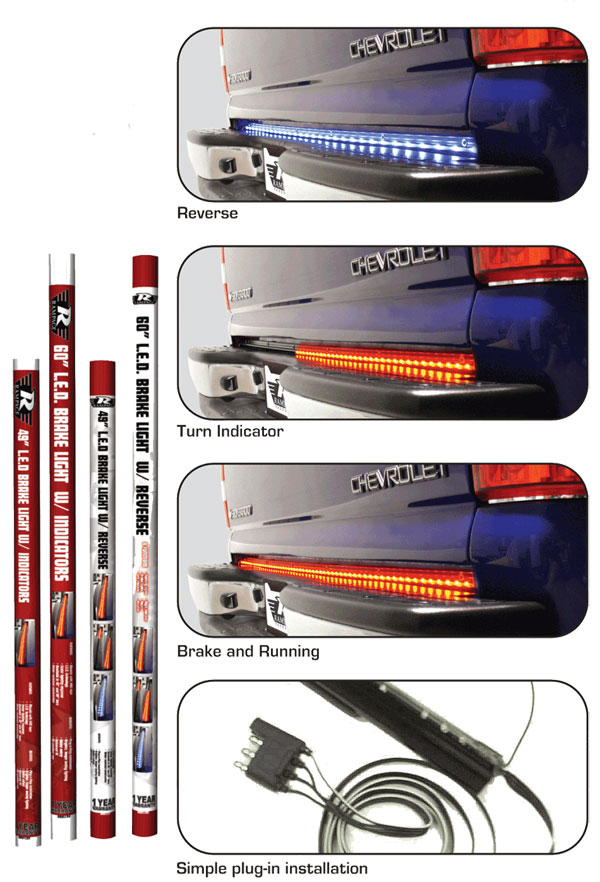 Rampage tail gate led light bars wheelonline