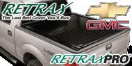 Chevy GMC RetraxPRO <br>Tonneau Covers