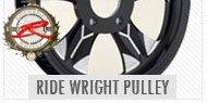 RideWright Drivetrain Pulleys