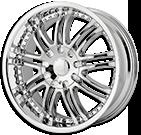 Sacchi Wheels<br /> S95 Chrome