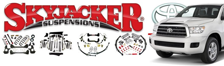 "Skyjacker 2xB8523-2xB8560 64-84 TOYOTA LC FJ40 4WD 5-6/"" Lift Black MAX Shocks"