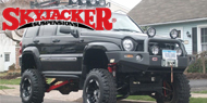 Skyjacker Jeep Suspension Lifts - Liberty