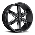 Foose Wheels<br /> F162 Slider Black Milled