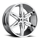 Foose Wheels<br /> F161 Slider Chrome
