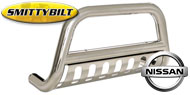 Smittybilt Stainless Steel Grille Savers <br/>for 04-15 Nissan Titan/Armada