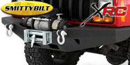 Smittybilt Textured Black XRC Front Bumpers <br>84-01 Cherokee XJ
