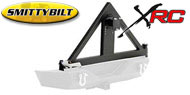 Smittybilt Textured Black XRC Tire Carrier <br>07-17 Wrangler JK