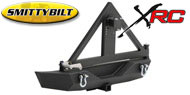 Smittybilt Textured Black XRC Rear Bumper & Tire Carrier <br>07-17 Wrangler JK