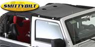 Smittybilt Cloak Extended Mesh Top<br/> 07-17 Jeep Wrangler JK