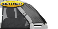 Smittybilt Cloak Extended Mesh Top Sides and Rear<br/> 07-17 Jeep Wrangler JK