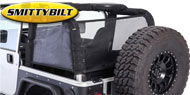Smittybilt Cloak Extended Mesh Top Sides and Rear<br/> 97-06 Jeep Wrangler TJ