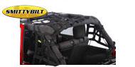 Smittybilt CRES 2 HD Cargo Restraint System<br/> 07-17 Jeep Wrangler JK