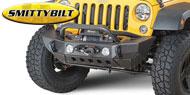 Smittybilt Lite Texture Front Bumper XRC Gen2<br/> 07-17 Jeep Wrangler JK