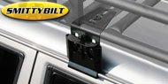 Smittybilt Universal Heavy Duty Rain Gutter CL w/ Short Brackets Qty 2