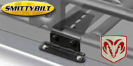 Smittybilt Adjust-A-Mount Defender Rack Clamps <br>for 1974-2015 Dodge Ramcharger/Trailduster and Ram Crew Cab