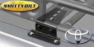 Smittybilt Adjust-A-Mount Defender Rack Clamps <br>for 2004-2015 Toyota 4Runner