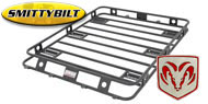 Smittybilt One Piece Defender Roof Rack <br>for 1974-2015 Dodge Ramcharger/Trailduster and Ram Crew Cab