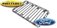 Smittybilt One Piece Defender Roof Rack <br>for 1975-2015 Ford E100-E350 Van