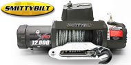 Smittybilt 98412<br> XRC 12,000 lb GEN 2 Winch<br> Synthetic Rope &amp; Fairlead