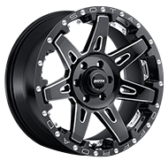 SOTA 568DM B.A.T.L. Death Metal Black Wheels